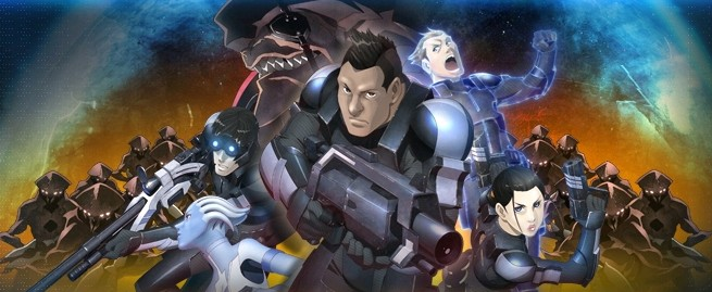 Anime Review Mass Effect Paragon Lost 2012 The Galactic Pillow