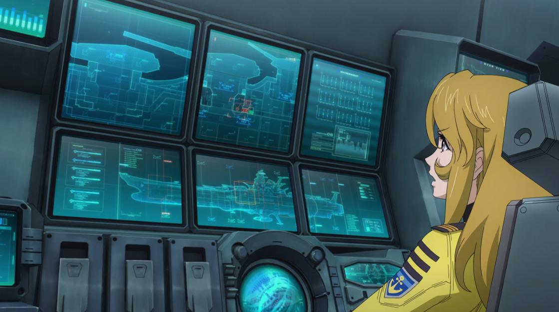 Image result for space battleship yamato 2199 yuki mori
